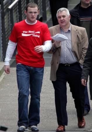 Rooney et Stretford
