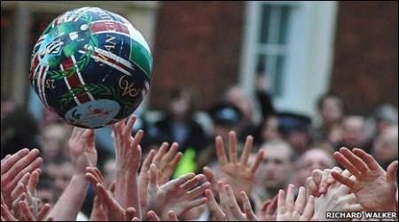 Ballon peint Shrovetide