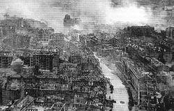 Kiev après les bombardements