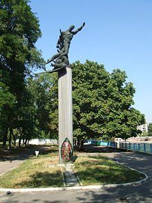 Monument dédié au FC Start
