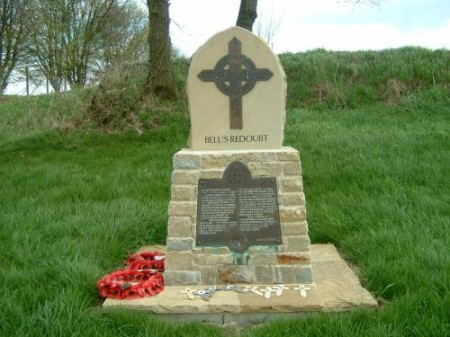 Bell's redoubt - Photo ww1cemeteries.com