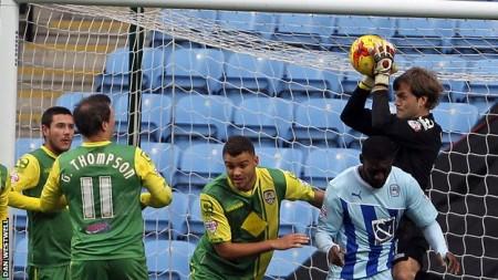 Carroll avec Notts County - Photo Dan Westwell - bbc.com