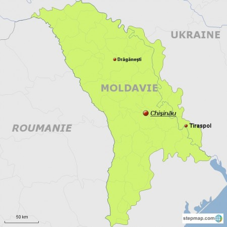 Carte Moldavie Draganesti