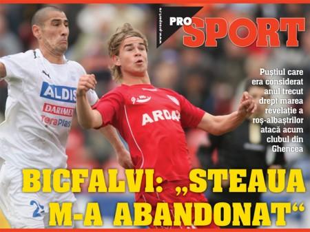 Eric Bicfalvi Steaua Prosport