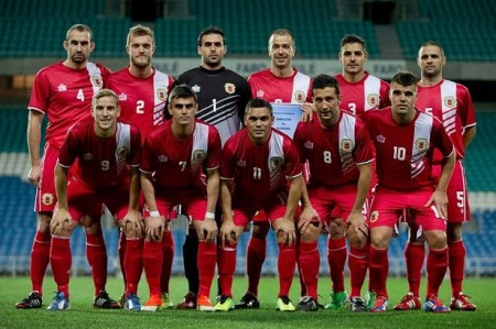 Gibraltar football team - Photo mirror.co.uk