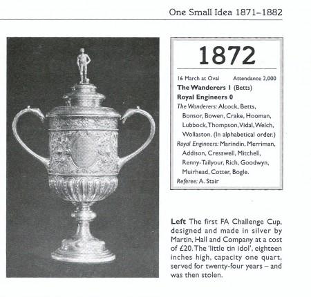 Premier trophée FA Cup