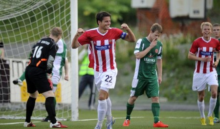 Tromso-Santos - Photo Rune Stoltz Bertinussen / NTB scanpix