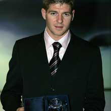 Championnat d'Anglettere  2006/2007 Gerrard